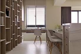 neutral home office office workspace built in office design ideas modern neutral beige home office for built home office designs