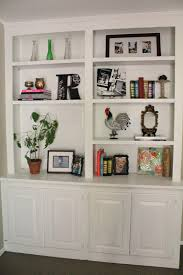 Living Room With Bookcase How To Decorate Shelves Without Books Google Search