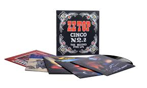 <b>ZZ Top</b> - <b>Cinco</b> No. 2: The Second Five LPS [LP Box Set ...