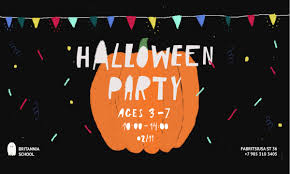 Britannia School <b>Halloween party</b> 2019 - Britannia School