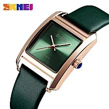 Buy Skmei <b>Women's</b> Leather Strap Watches online at Best Prices in ...