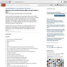 what are some useful technical skills i can learn in flickr what are some useful technical skills i can learn in a day