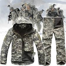 <b>Army Camouflage</b> Coat <b>Military</b> Tactical Jacket Men Soft Shell ...