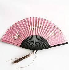 CHRDW <b>Chinese</b> Fengshui <b>Ink</b> Folding Fan Summer Palace Fan ...