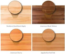 walnut cherry dining: butcher block dining table wood types