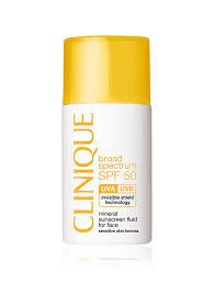 Clinique <b>солнцезащитный флюид для лица</b>-mineral sunscreen ...