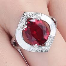 Классическое красное <b>кольцо с голубым</b> камнем овальное ...