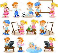 admin page 3813 clipart different hobbies clip art