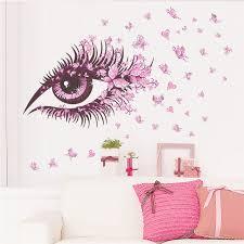 Small Picture Aliexpresscom Buy charming Women Eye butterfly LOVE heart home