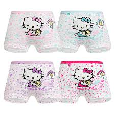 4 <b>Pieces</b>/<b>Lot</b> 2-12 Years old <b>Children Underwear</b> High Quality ...