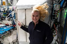 NASA <b>Astronaut</b> Kate Rubins Casts Her Vote from <b>Space</b> | NASA
