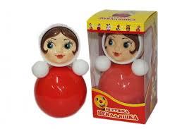 <b>Развивающая игрушка Russia Неваляшка</b> 26 см - Акушерство.Ru
