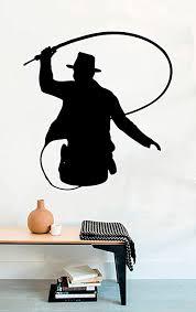 Vinyl Wall Decal - Movie Silhouette Indiana Jones ... - Amazon.com