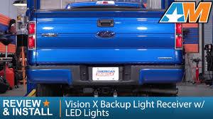 1997-2017 F-150 Vision X Backup <b>Light Receiver</b> w/ <b>LED Lights</b> ...