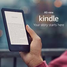 <b>All new Kindle Black 2019</b> version, Now with a Built in Front Light ...