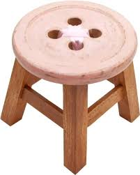 childs button stool in pink beautiful shabby chic beautiful shabby chic style