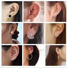 <b>New Fashion Jewelry</b> Leaf Stud <b>Korea Earrings</b> For Women 2019 ...