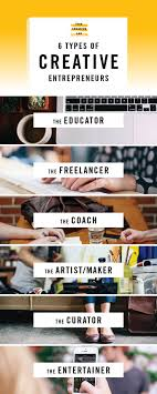 best ideas about online entrepreneur business in this post i will highlight 6 of the most common types of creative entrepreneurs