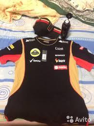 <b>Футболка женская</b> Replica Lotus F1 Team 2014 купить в ...