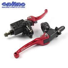 <b>Red QXMOTOR</b> Logo CNC Folding Brake Lever ASV Clutch Lever ...