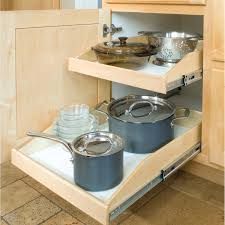 Kitchen Cabinet Slide Out Made To Fit Slide Out Shelves For Existing Cabinets By Slide A Shelf