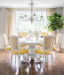 Gray Dining Room Trendy Color Duo 20 Dining Rooms That Serve Up Gray And Yellow