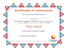 potty training certificates potty training concepts potty training certificates for boys