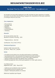 pediatric icu nurse resume sample cipanewsletter resume writing service
