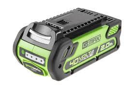 Li-Ion <b>Аккумулятор Greenworks</b> G-MAX 40V 2 А/ч G40B2 ...