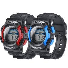 5 Colors Luxury Brand <b>Sport Watches LED</b> Digital Electronic ...