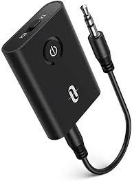 TaoTronics Bluetooth 5.0 Transmitter and Receiver, <b>2-in-1</b> Wireless