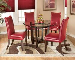 dining set red