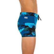плавки-<b>боксеры для мальчиков</b> синие 100 pool camo nabaiji