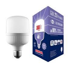 <b>Лампа led</b> сверхмощная <b>Volpe</b> (ul-00006790) <b>e27 40w</b> (360w ...