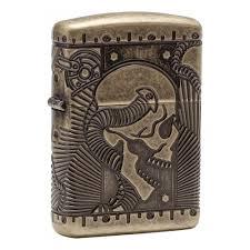 <b>Зажигалка ZIPPO</b> Armor™ с покрытием <b>Antique Brass</b>, медная ...