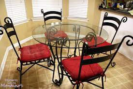 amazing black color wrought black wrought iron table