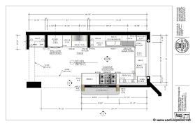 narrow kitchen layout