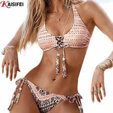 <b>2016</b> Sexy <b>Handmade Crochet</b> Bikini <b>Women</b> from The Fashionoma