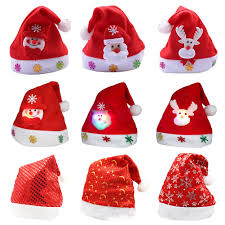 <b>Christmas Cartoon Cute</b> Hat Embroidered Bronzing Child/Adult Size ...