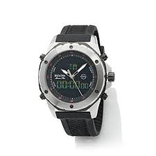 Buying Bulova Black Dial Wavy <b>Silicone Strap Sports</b> Watch - mens ...