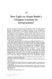 new light on adam smith s glasgow lectures on jurisprudence springer inside