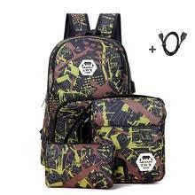 Buy <b>3 pcs</b> bag school boy and get free shipping on AliExpress.com