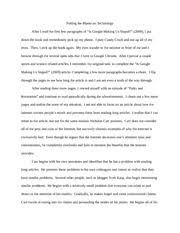 gsell argumentative essay is google making us stupid   putting   pages gsell argumentative essay is google making us stupid revised