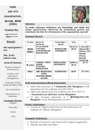name abc xyzqualification bcom hrd contact no 91 0824 freshers resume formats