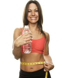 El agua ayuda a estar en forma