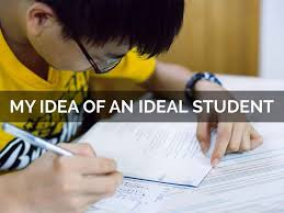 write a short essay on an ideal student
