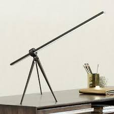 360 Lighting Modern Desk Table Lamp <b>Led</b> Black <b>Tripod</b> Swivel ...