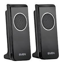 Компьютерная акустика <b>Sven 314</b>, <b>Black</b> 2.0 — купить в интернет ...