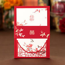 (<b>100 pieces/lot</b>) Love Bird Red Plum Blossom Chinese Wedding ...