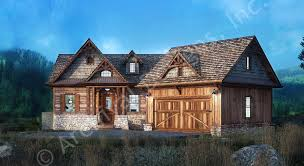 Rustic Lake House Plans   Home Plans By Archival DesignsRustic Lake House Plan   Rustic Lake Style Architectural House Plan